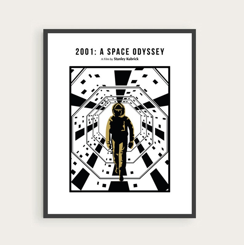 2001: A Space Odyssey Stanley Kubrick Poster Arthur C. image 0