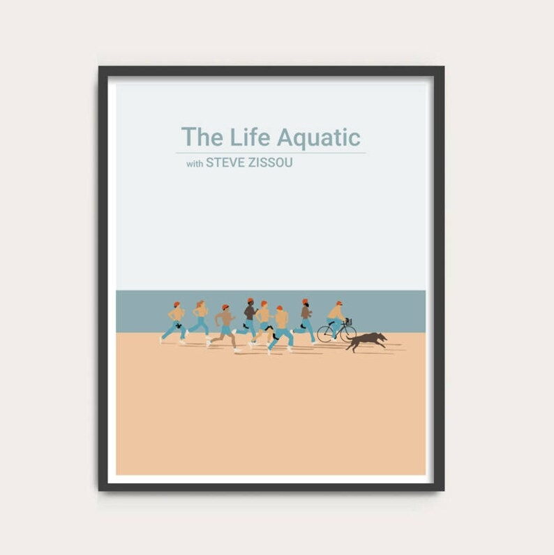 The Life Aquatic with Steve Zissou Wes Anderson movie poster image 0