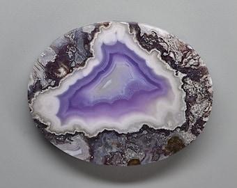 Purple Passion Agate Maligano Jasper Amethyst Sage Ray Mine Chrysocolla Indigo Gabbro Ammonite Moss Agate Destash Cabochon Assortment