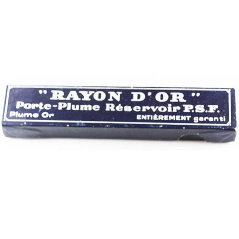 Rayon D\u2019 OR Porte-Plume Pen Box France w16517 Rare Collectible Fountain Pen Box
