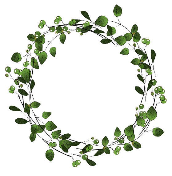 Handy image regarding printable wreath