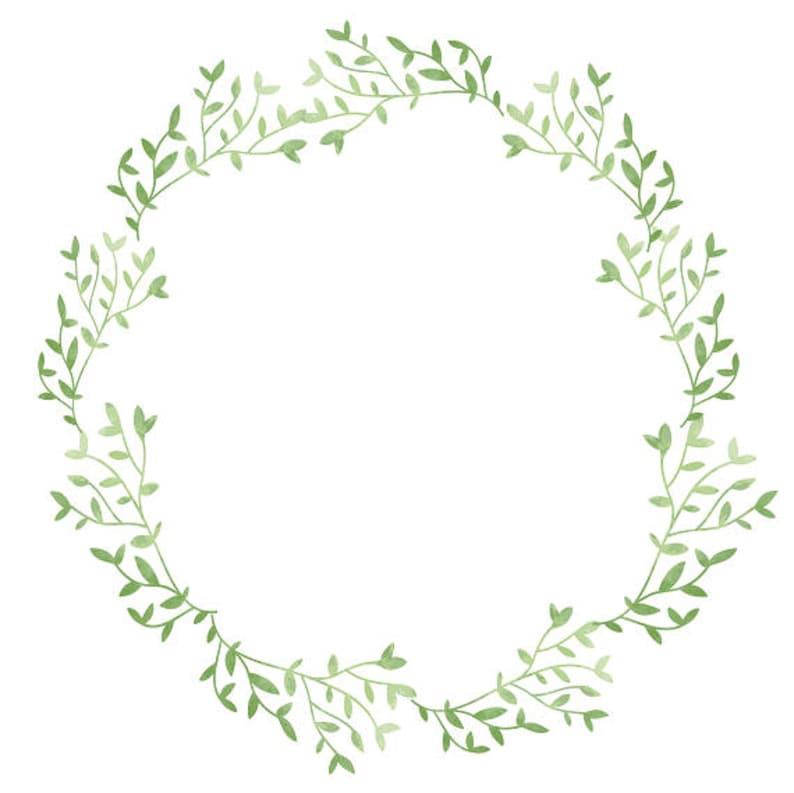 Eucalyptus Wreath Watercolor