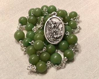 Green St Michael Chaplet