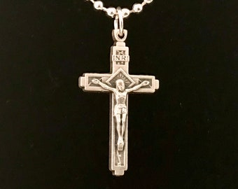 Small Crucifix Necklace
