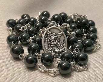 Black St Michael Chaplet