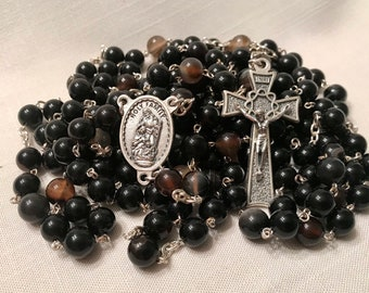 Agate 15 Decade Rosary