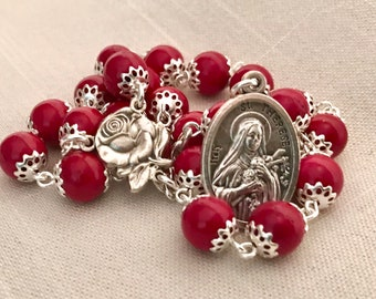 St Therese Red Rose Chaplet