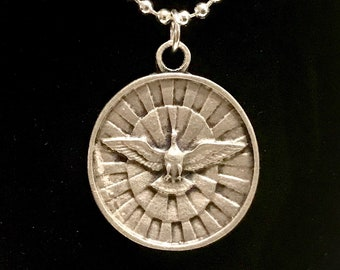 Spanish Gifts of the Holy Spirit Medal