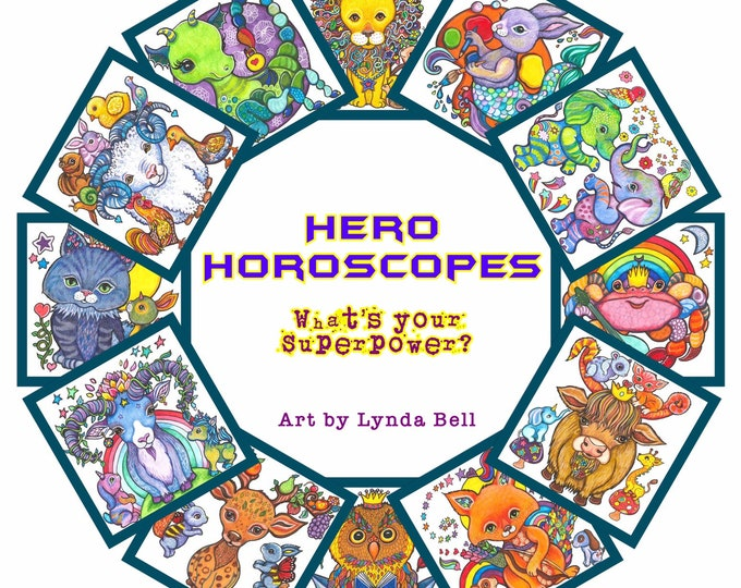 Hero Horoscopes - fine art prints (choose one or more)