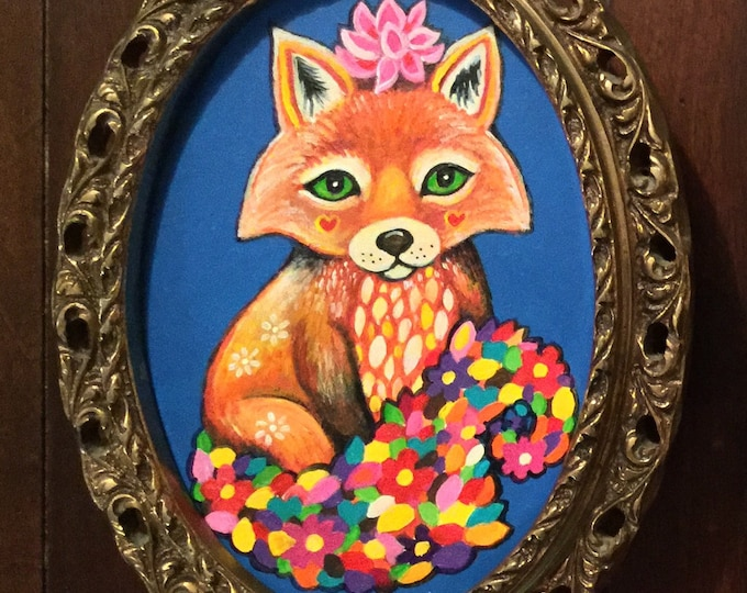 Petal the Fox (original painting)