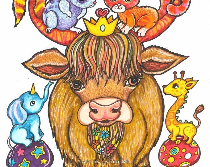 Taurus - original illustration