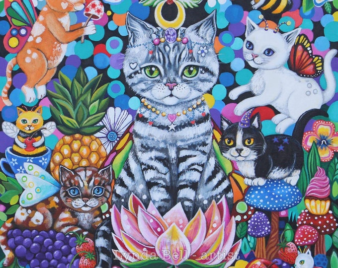 Garden Gathering - fine art print