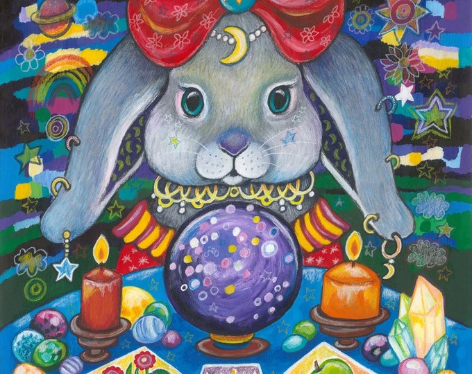 Madame Bunny - original painting