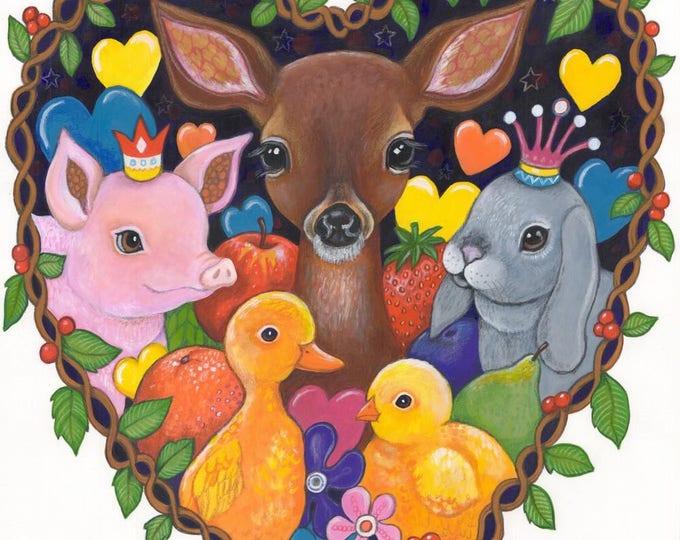 Baby Love - fine art print