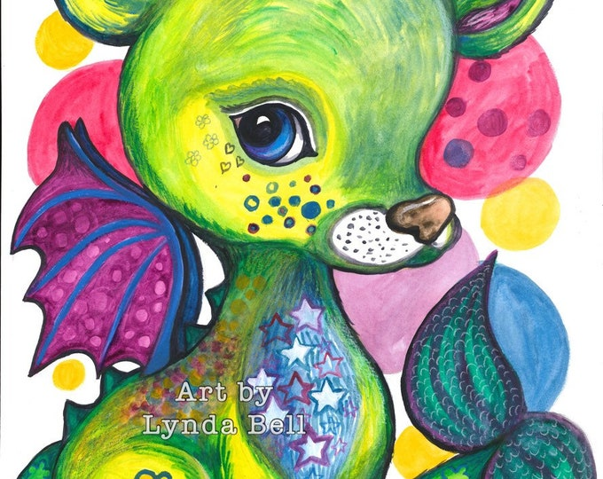 Francine Deer-Dragon (original painting)