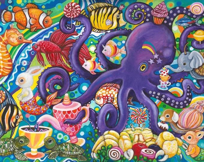 Sea Picnic - original painting