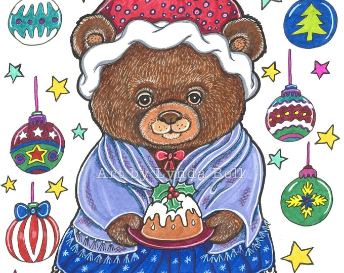 Mrs Beary Crachit - original illustration