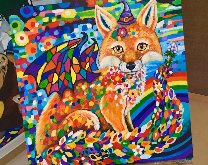 Rainbow Spell - original painting