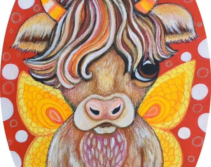 Hollie Cow - Original Painting