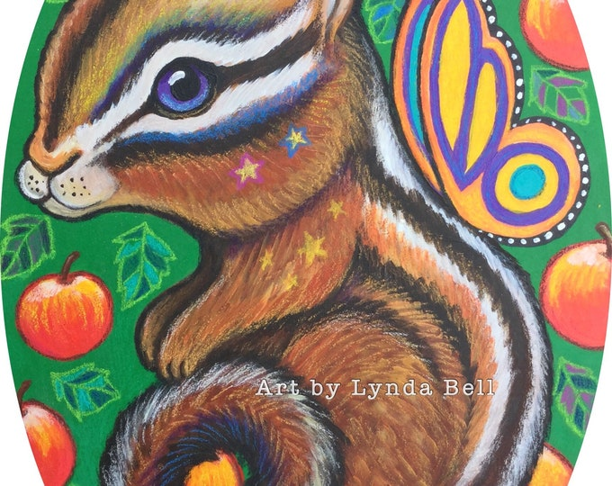Clementine Chipmunk - original painting
