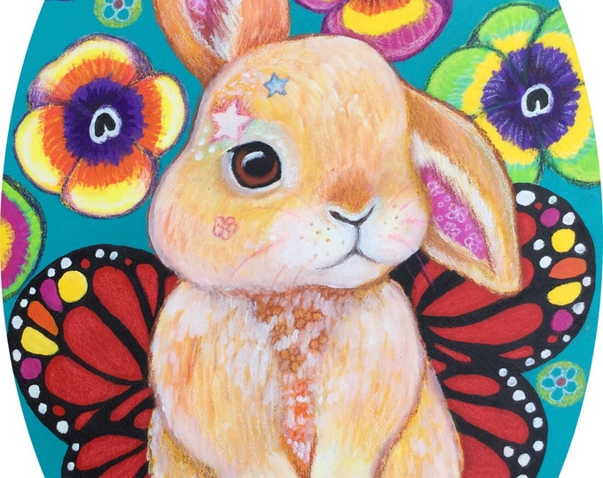 Brooke Bunny - Original Painting