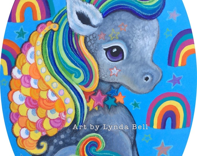 Ursula Unicorn - Original Painting