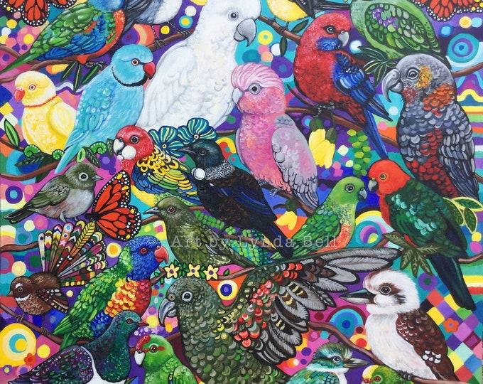 Oceanic Chorus - fine art print
