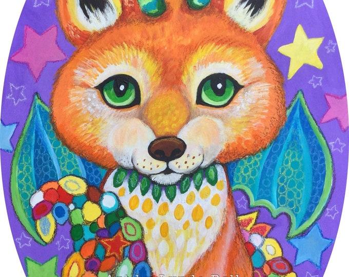 Faedra Fox - Original Painting