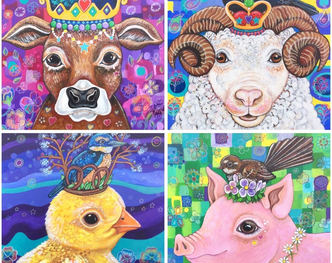 Animal Portraits 2020 calendar preorder