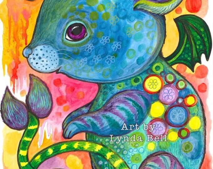 Leopold Mouse-Dragon (original painting)
