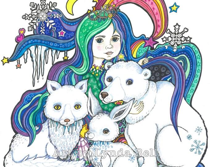The Frost Princess - original illustration