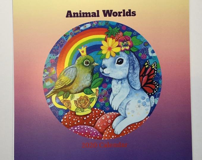 Animal Worlds 2020 Calendar - preorder