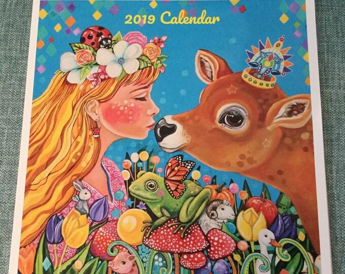 2019 calendar - Animal Worlds