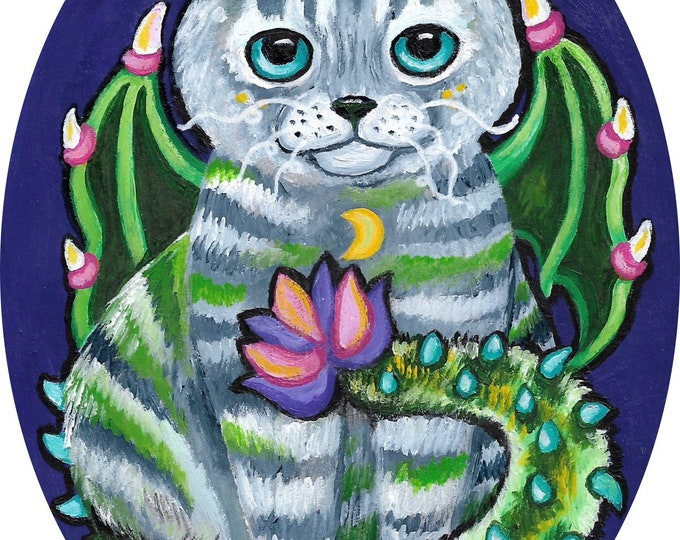 Drago-Kitty - original painting