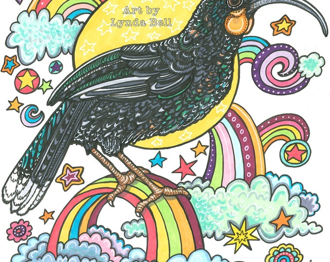 Angel Huia - Original Illustration
