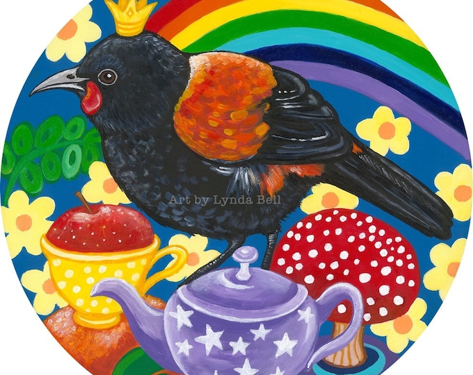 Saddleback Picnic - original painting
