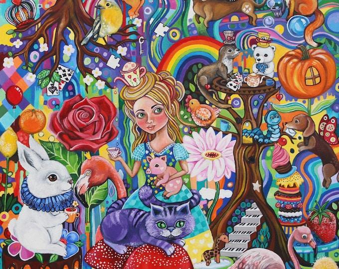Wonder World - fine art print