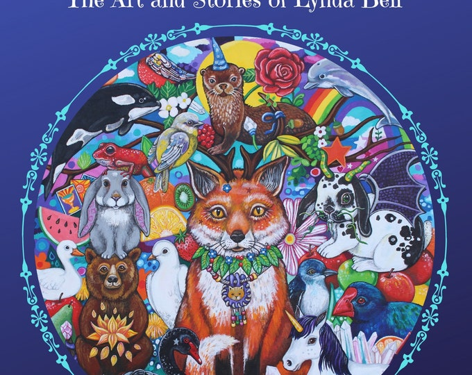 Art Book: Rainbow Dreams and Tea-Parties - signed copy