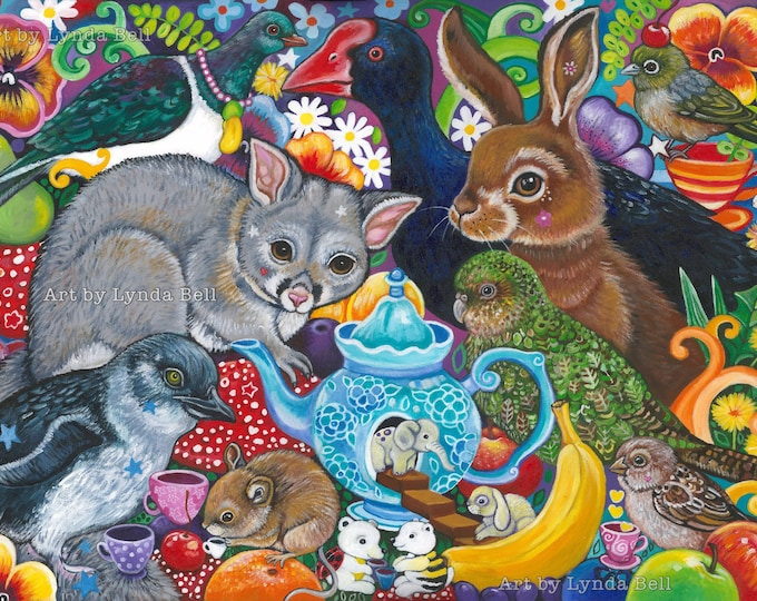 Forest Picnic - original painting