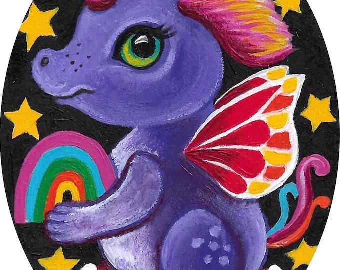 Dragon-Fly - original painting