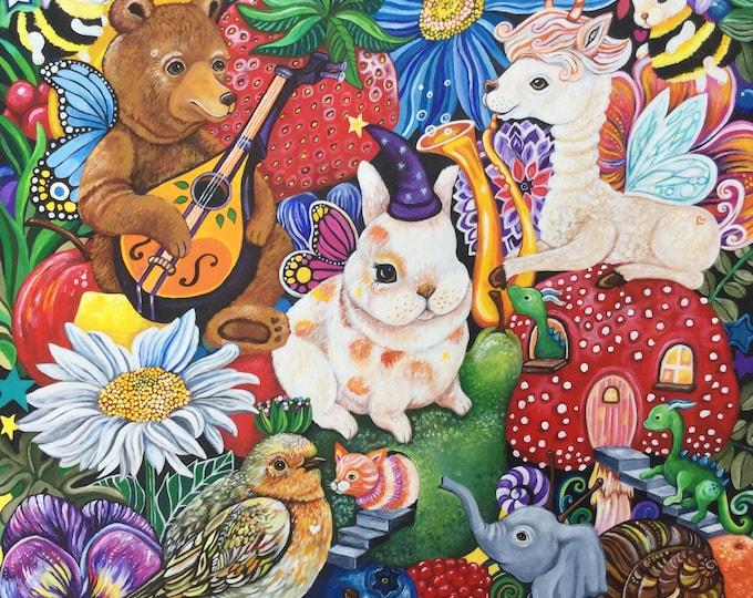 Symphony of the Mini Beasts - fine art print