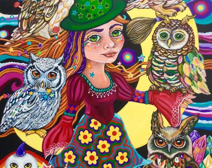 Wise Magic - original painting