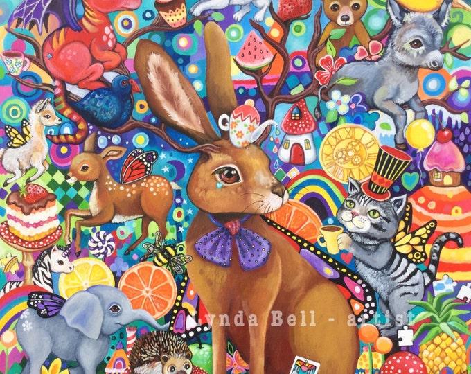 The Hare's Tea-Party - fine art print