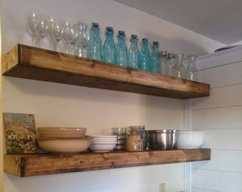 wood wall shelf etsy. Black Bedroom Furniture Sets. Home Design Ideas