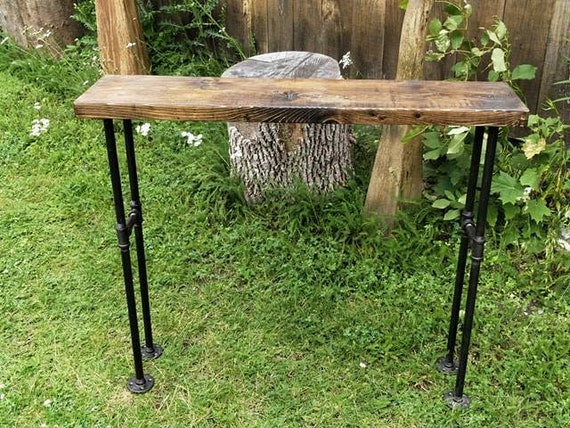 Stupendous Modern Black Iron Pipe Bench Entryway Table Rustic Bench Entryway Bench Industrial Bench Wood And Metal Bench Pipe Bench Pabps2019 Chair Design Images Pabps2019Com