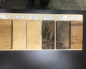 Stain Sample Board - iirntree