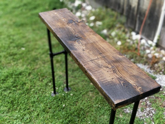 Miraculous Modern Black Iron Pipe Bench Entryway Table Rustic Bench Entryway Bench Industrial Bench Wood And Metal Bench Pipe Bench Pabps2019 Chair Design Images Pabps2019Com
