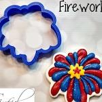 Fireworks Cookie / Fondant Cutter