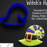 Witch's Hat - Halloween Cookie / Fondant Cutter