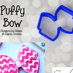 Puffy Bow Cookie / Fondant Cutter
